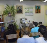 """Литературная гостиная """"У волжских Кимр судьбы моей исток"""""""