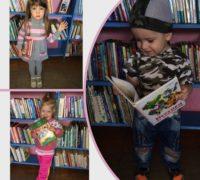 Знакомство с библиотекой для малышей