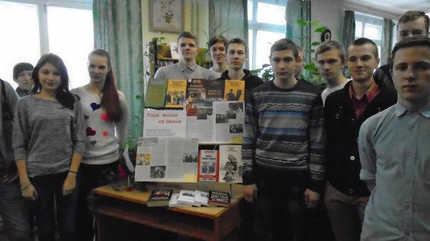 """студенты Савёловского колледжа приняли участие в литературном патриотическом часе """"Подвигу нет забвенья"""""""