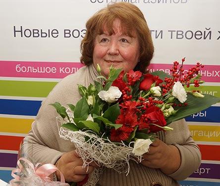 юбилей у Виктории Токаревой