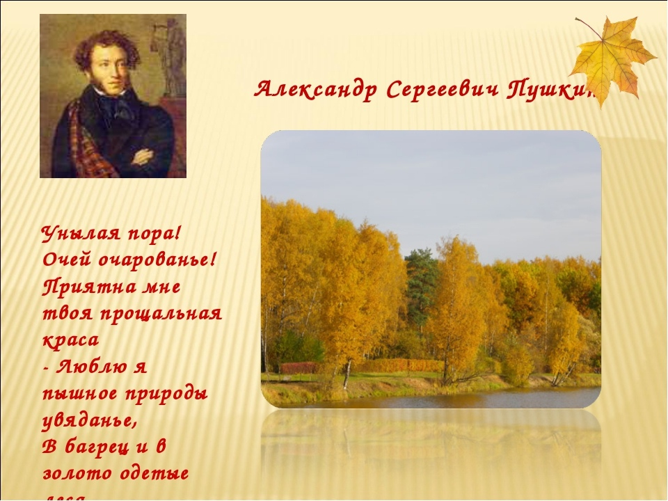 Осень ...