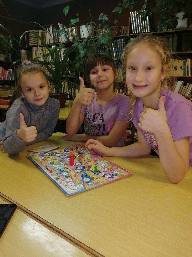 Игротека в библиотеке - каждый день!